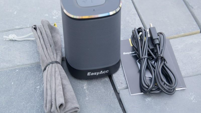 Power Brüllwürfel im Test EasyAcc DP100 Ultra Portable Bluetooth 4.0 Speaker Review Lautsprecher Audio Musik Akku
