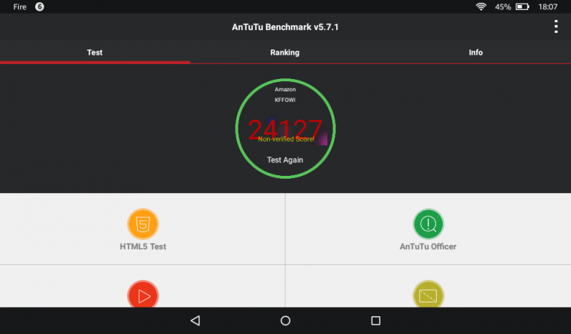 Benchmarks des Amazon Fire Tablets 7 Zoll MTK MT8127 Mali-450MP Test Antutu Benchmark (2)