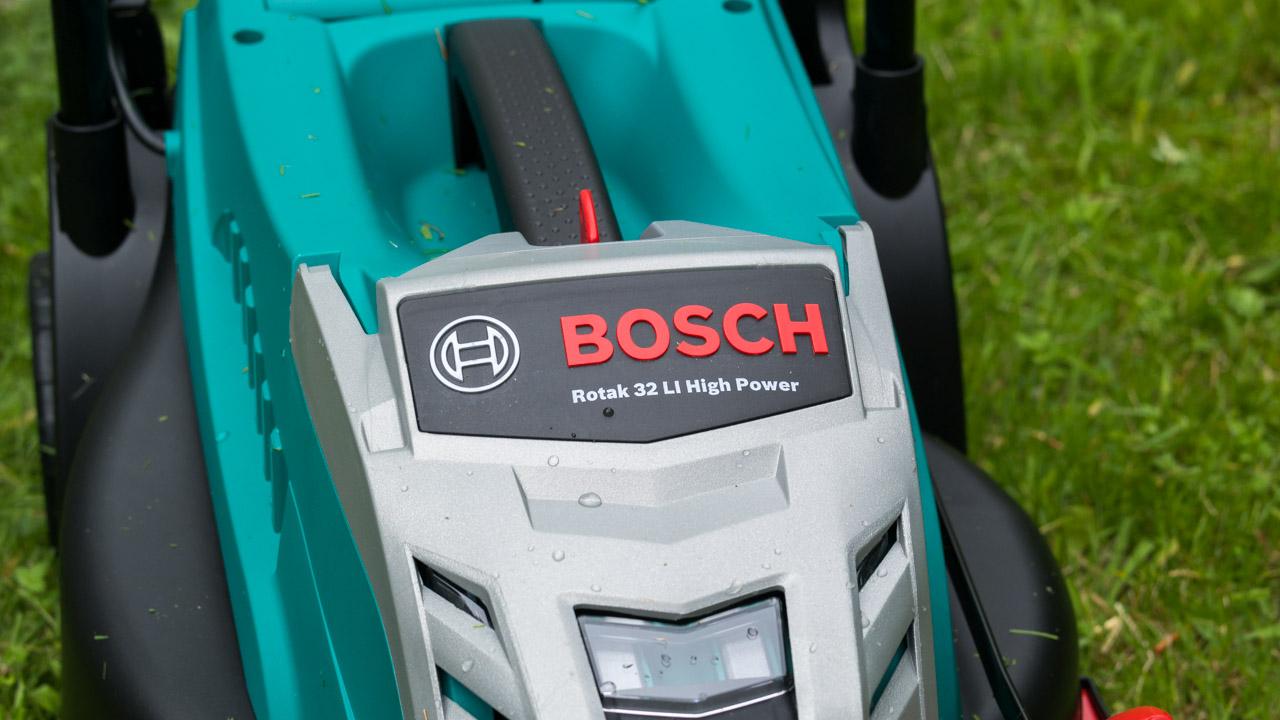 bosch home garden rotak 32 li high power akku rasenm her review techtest. Black Bedroom Furniture Sets. Home Design Ideas