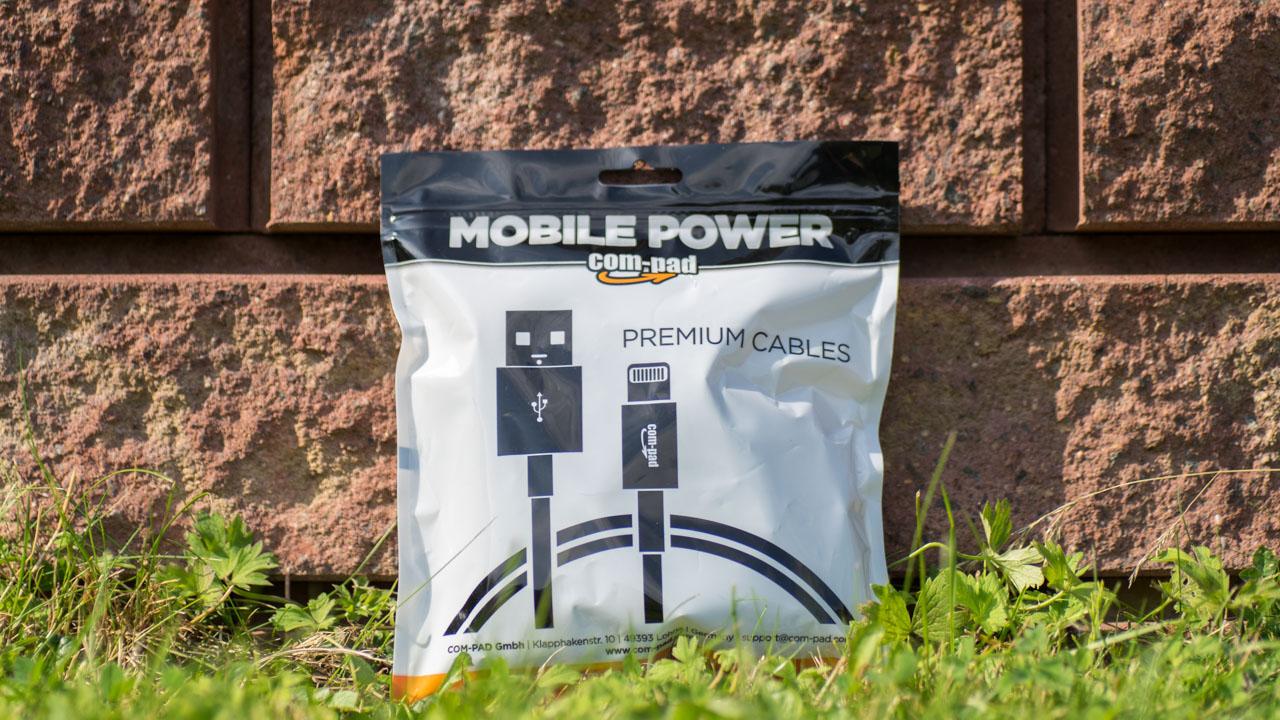COM-PAD Premium Micro USB Kabel Nylon ummantelung Review Test Ladekabel