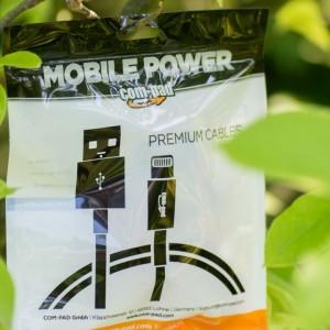 COM-PAD Premium Micro USB Kabel mit vergoldeten Steckern und Nylon ummantelung Review