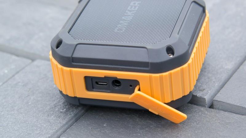 Outdoor Bluetooth Lautsprecher bisher Omaker M4 Wassergeschützt IP54 NFC Empfehlung Bass guter Klang