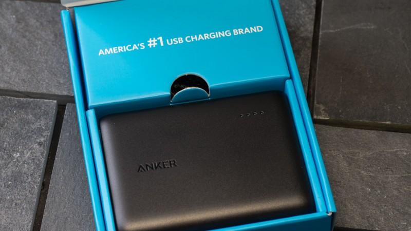 Anker PowerCore 10400 Powerbank Externer Akku Ladegerät USB Astro