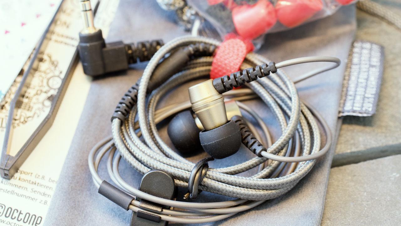 Octone Dynamic One V2 in-Ear Kopfhörer Ohrhörer Test Review