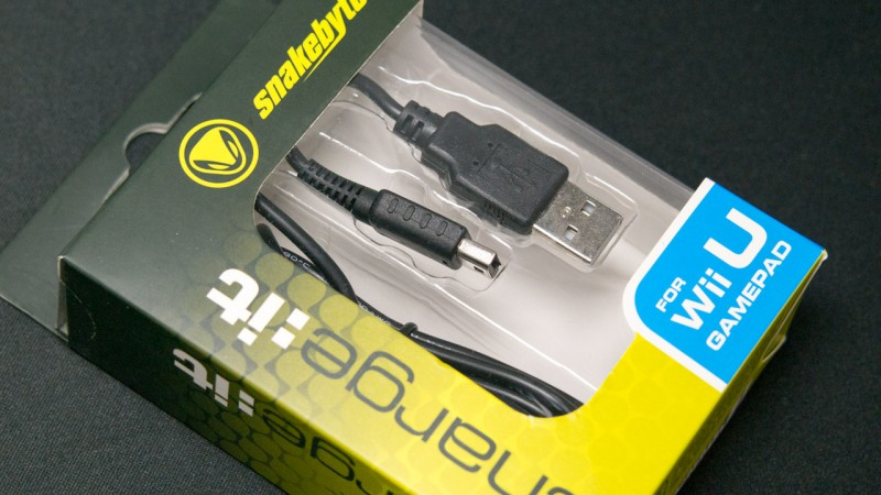 snakebyte Wii U charge:it Wii U Gamepad via USB Laden Powerbank Ladegerät