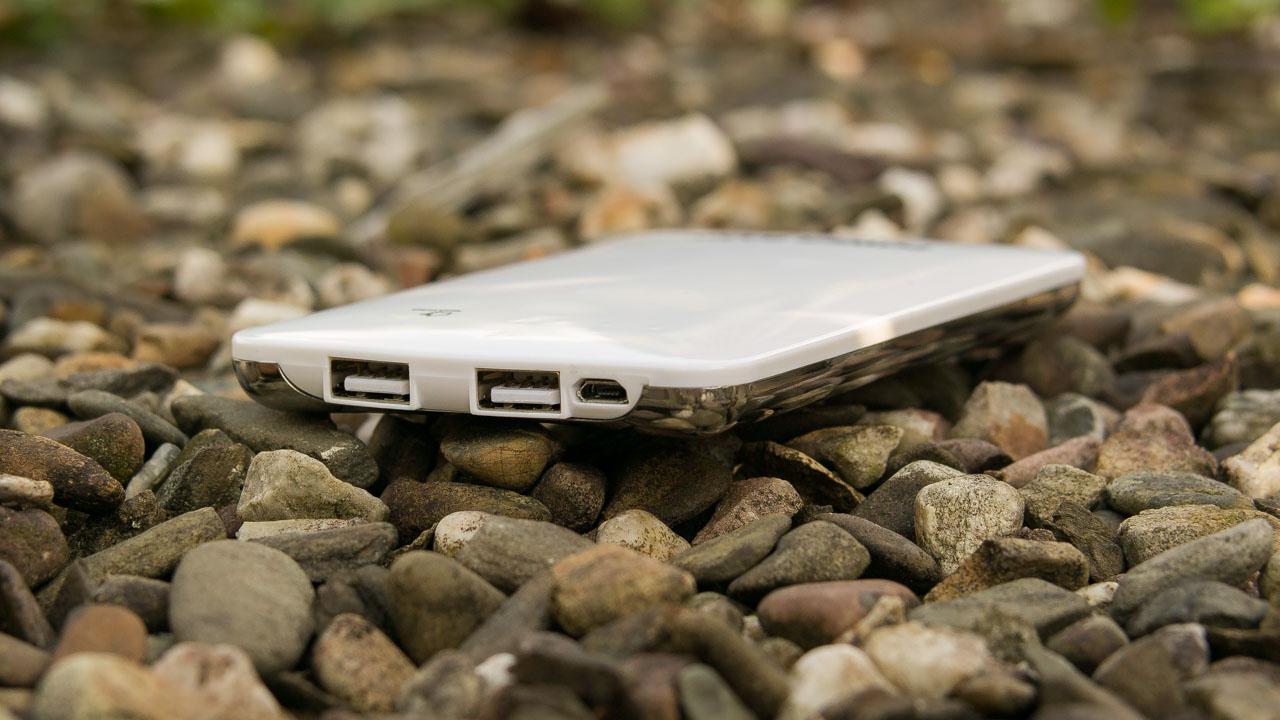 Winten 8000 mAh WT-P80A-WH Powerbank im Test Externer Akku Review USB Ladegerät