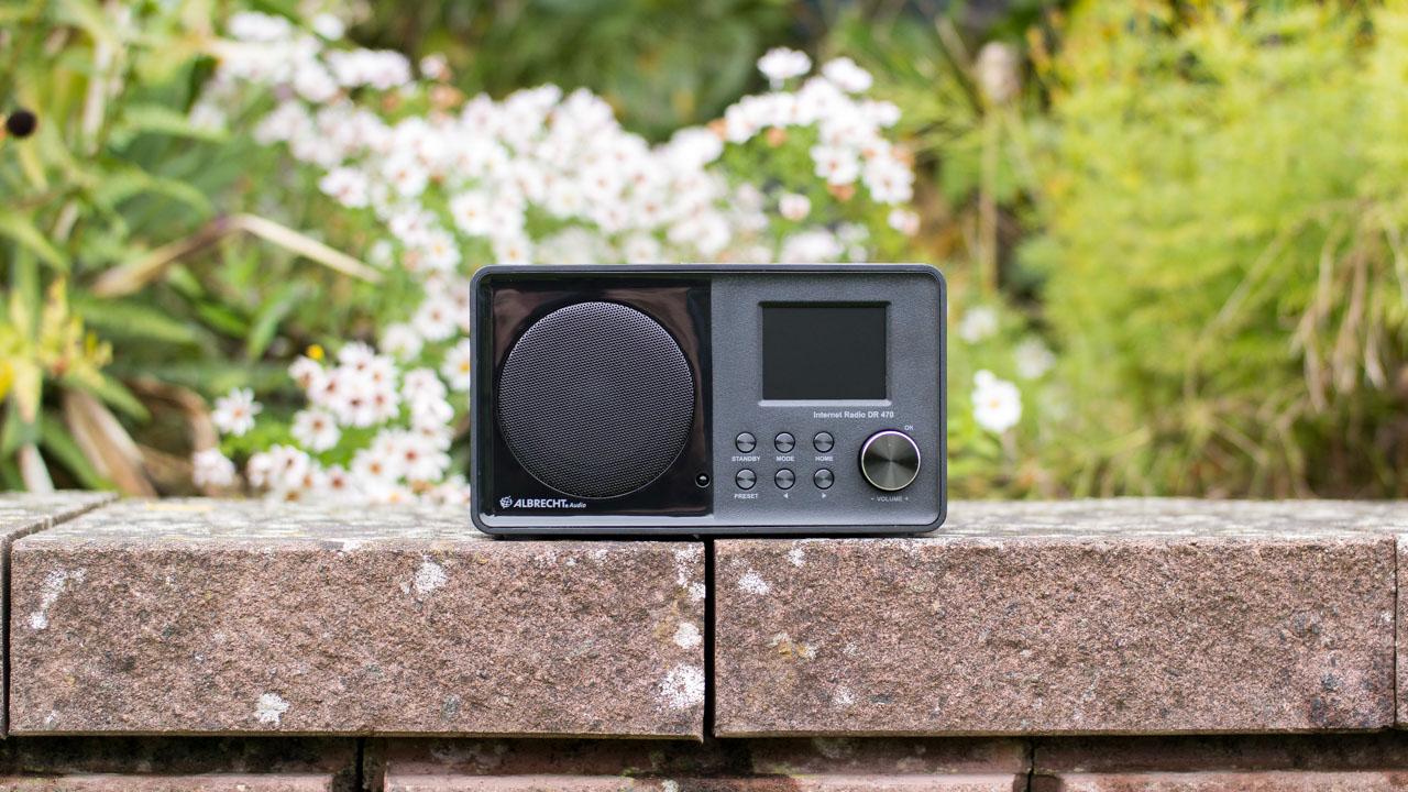 Albrecht DR 470 Internet Radio im Test Review UKW FM DLNA Musik Wiedergabe