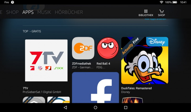 Amazon Fire OS 5.0.1 Test Review