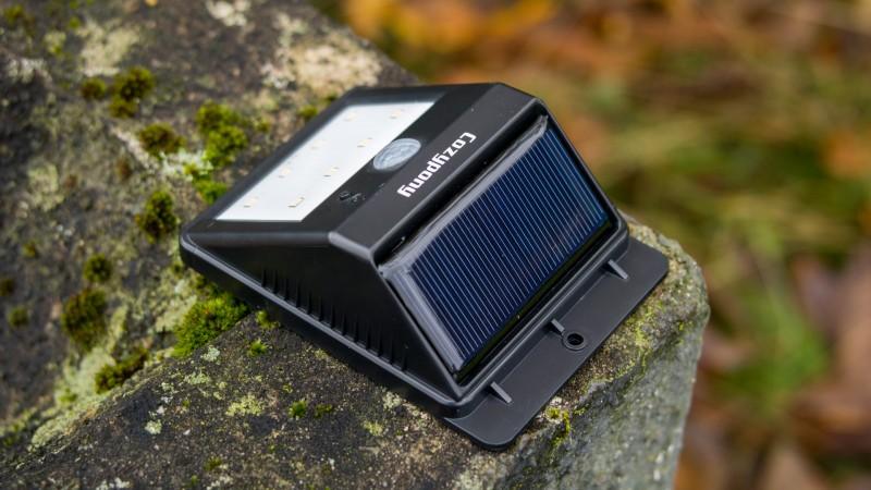 Cozypony Solarleuchte mit Bewegungsmelder