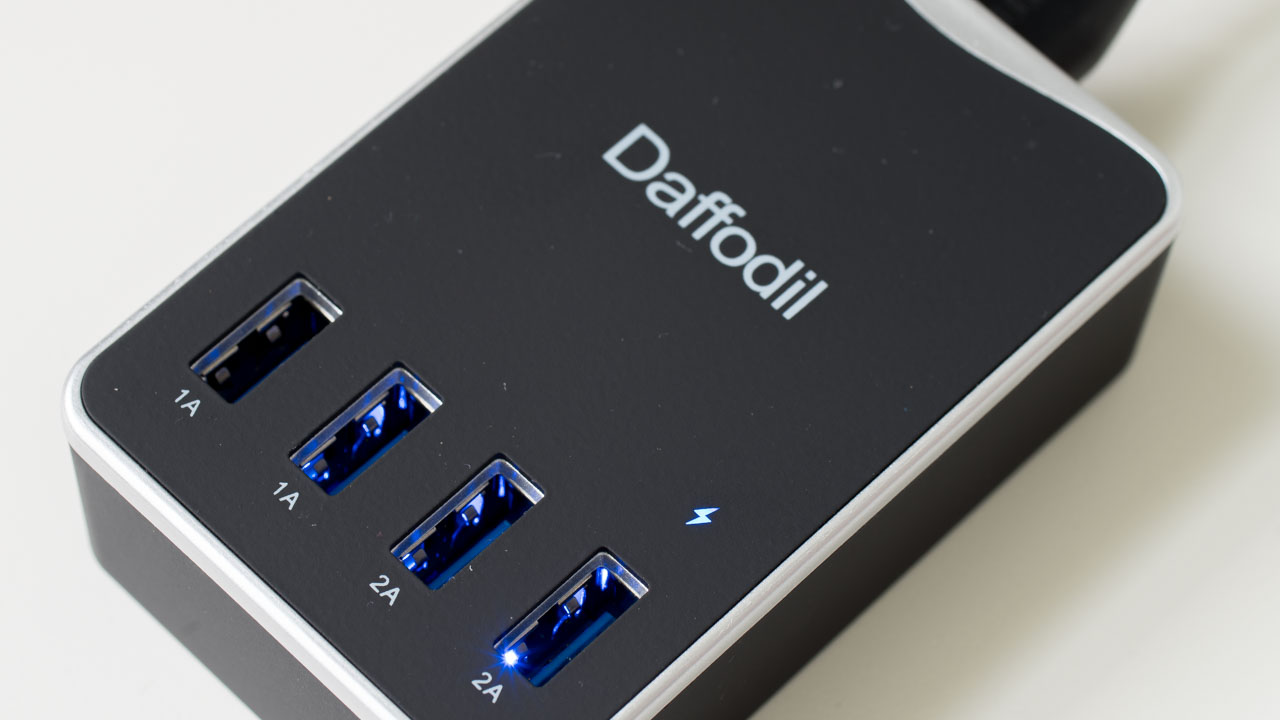 Daffodil UMC30 – 6A 30W USB Ladegerät Test