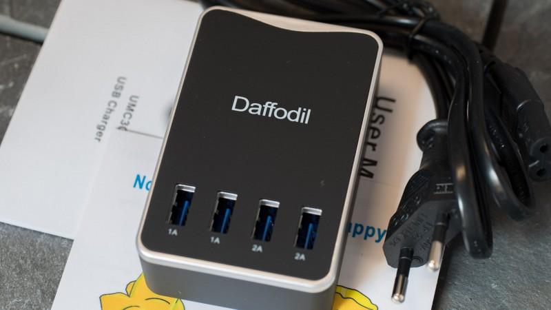 Daffodil UMC30 – 6A 30W USB Ladegerät Test Review Netzteil