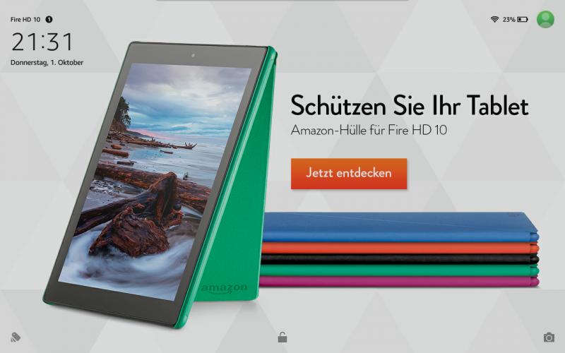 Das Fire HD 10 Tablet von Amazon im Test review Kamera MT8135 Fire OS 5 Vergleich Multimedia