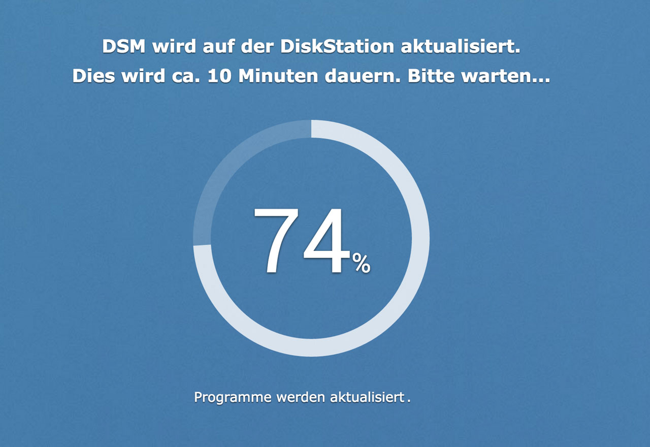 Die Synology DSM 6.0 Beta Installieren