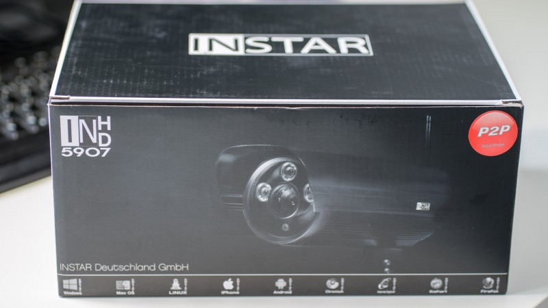 INSTAR IN-5907HD Außen Überwachungskamera Test Review -1