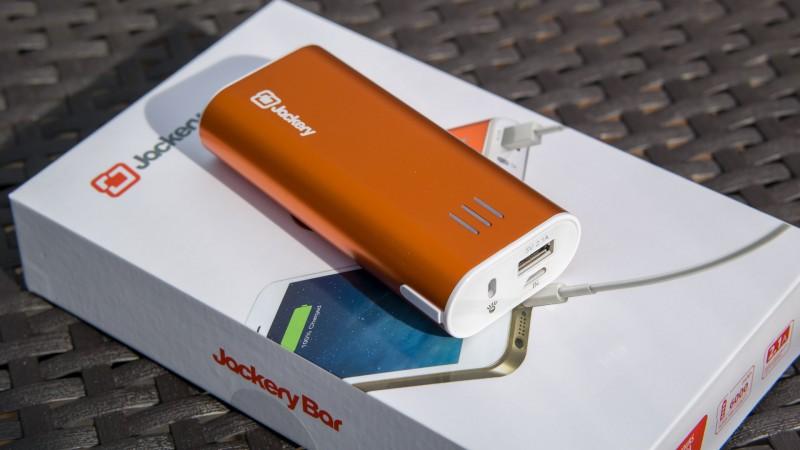Jackery Bar 6000mAh Premium Powerbank im Test Review USB Ladegerät Externer Akku Power Bank Alu Gehäuse