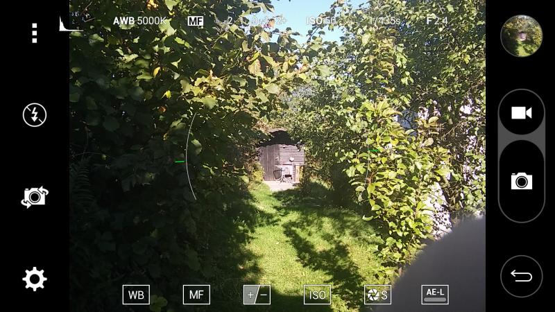 LG G4s im Kamera Check 8MP Kamera Test Bilder App