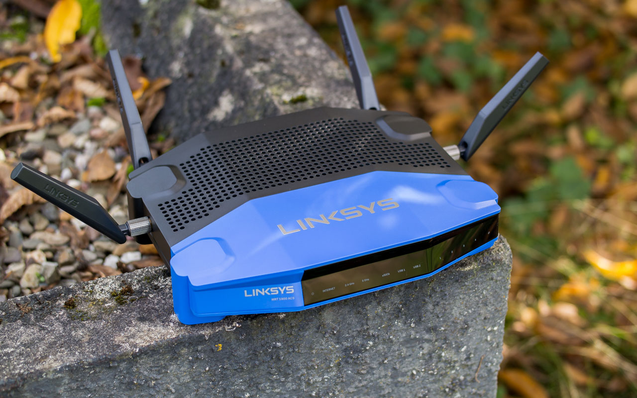 Linksys WRT1900ACS W-LAN Router mit OpenWRT im Test Review