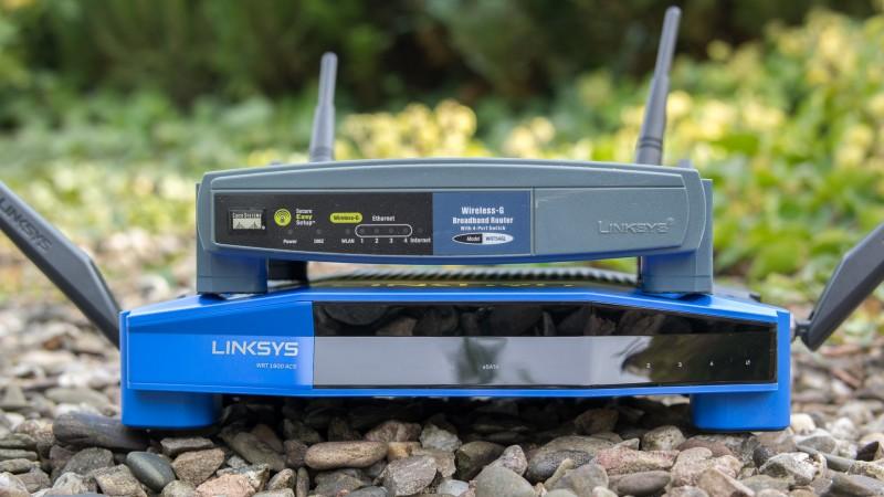 Linksys WRT1900ACS W-LAN Router mit OpenWRT im Test Review