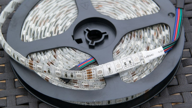 RGB LED Strip von Besdata im Test Review LED Band Bunt 5050