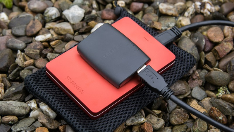 Toshiba STOR.E Wireless Adapter im Test-14