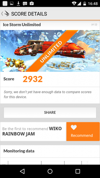 Wiko Rainbow Jam im Benchmark Test Mediatek MT6580 Mali-400 (19)