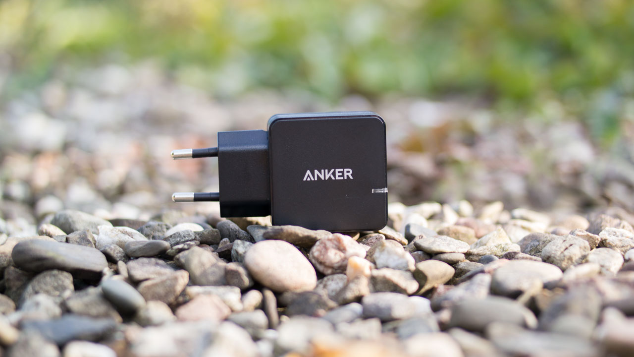Anker QC 2.0 Ladegerät im Test, Anker 18W 1-Port USB Ladegerät mit Qualcomm QC 2.0 Technologie