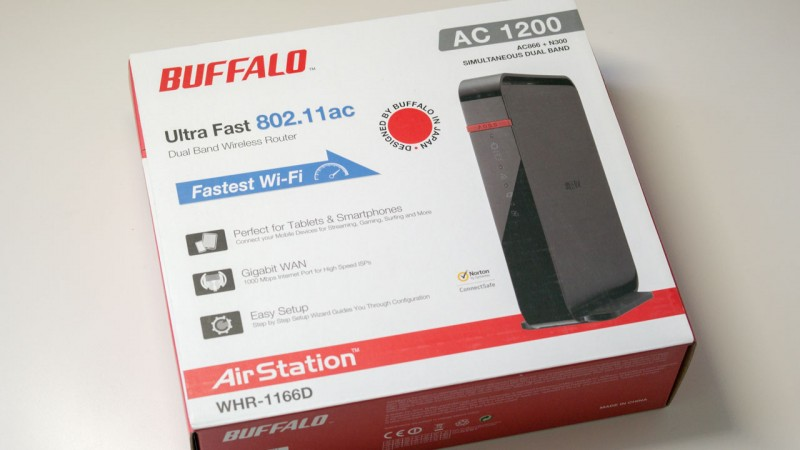 Buffalo AirStation Wireless Router im Test WHR-1166D-EU Review-1