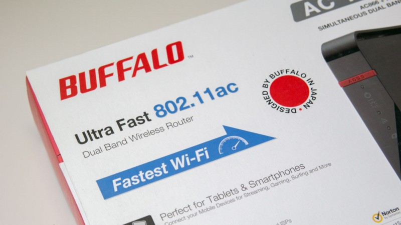 Buffalo AirStation Wireless Router im Test WHR-1166D-EU Review-2