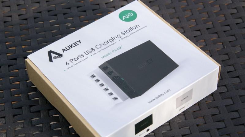 Das beste von Aukey bisher AUKEY PA-U27 AIPower 6-Port USB Ladegerät im Test-1