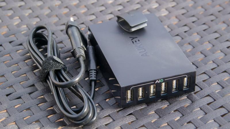 Das beste von Aukey bisher AUKEY PA-U27 AIPower 6-Port USB Ladegerät im Test-4