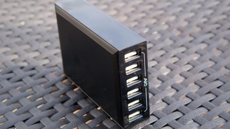 Das beste von Aukey bisher AUKEY PA-U27 AIPower 6-Port USB Ladegerät im Test-6
