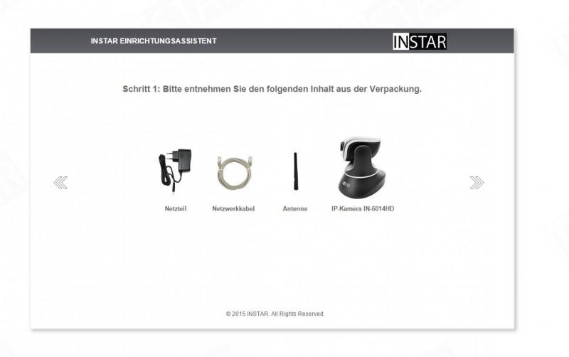 Steuerbare W-LAN IP-Überwachungskamera im Test INSTAR IN-6014HD Review Kamera Netzwerk 6014HD