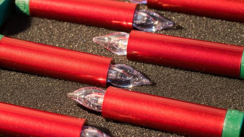 Kabellose LED Lichterkette Weihnachtsbaum Krinner Test Review Vergleich Weihnachten Beleuchtung Lumix Mini Basis Set Deluxe Christbaumkerzen
