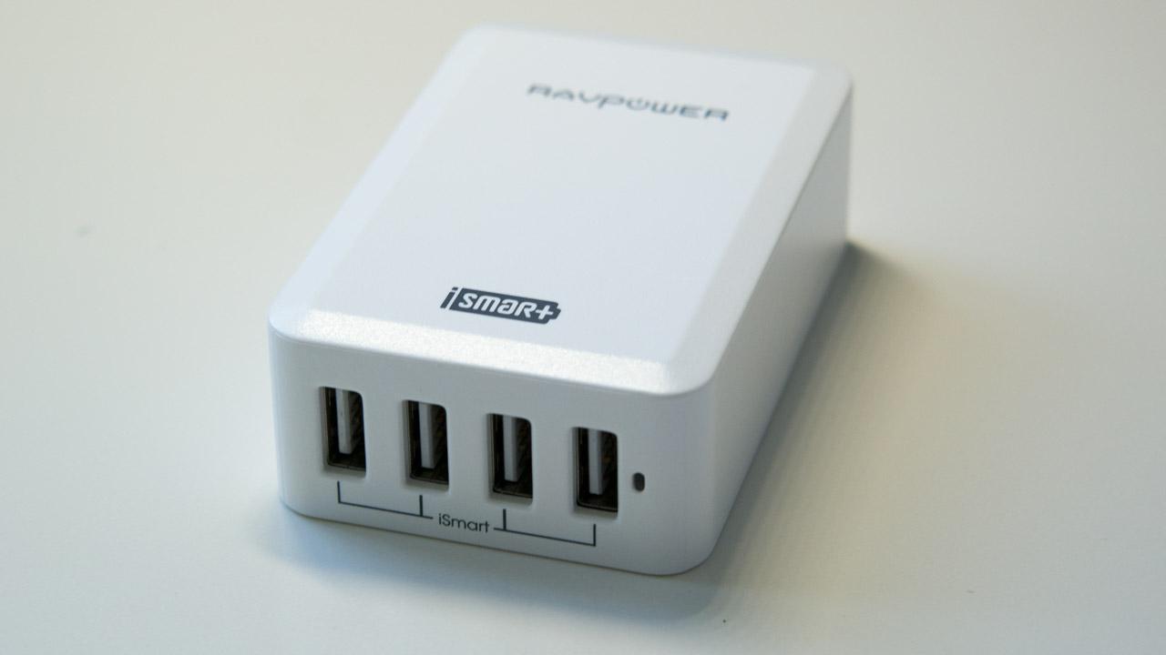 RAVPower RP-UC07 4-Port USB Ladegerät mit 40W im Test