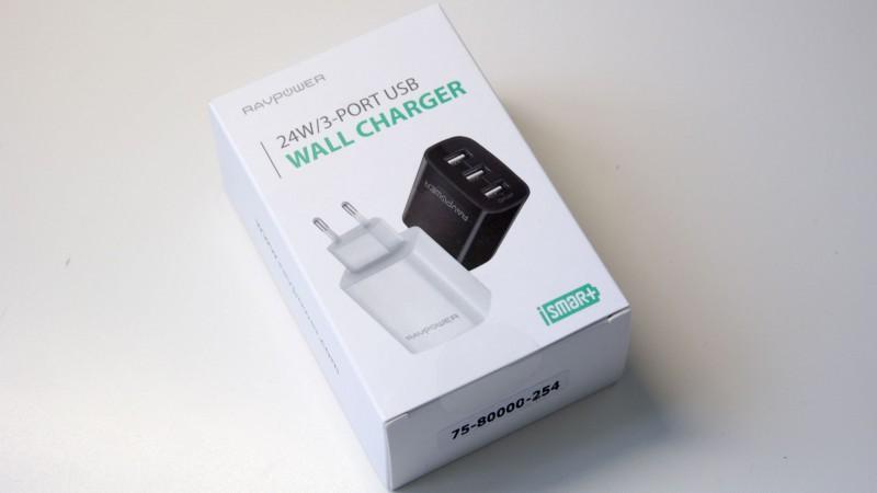 RAVPower RP-UC12 3-Port USB Ladegerät im Test-1