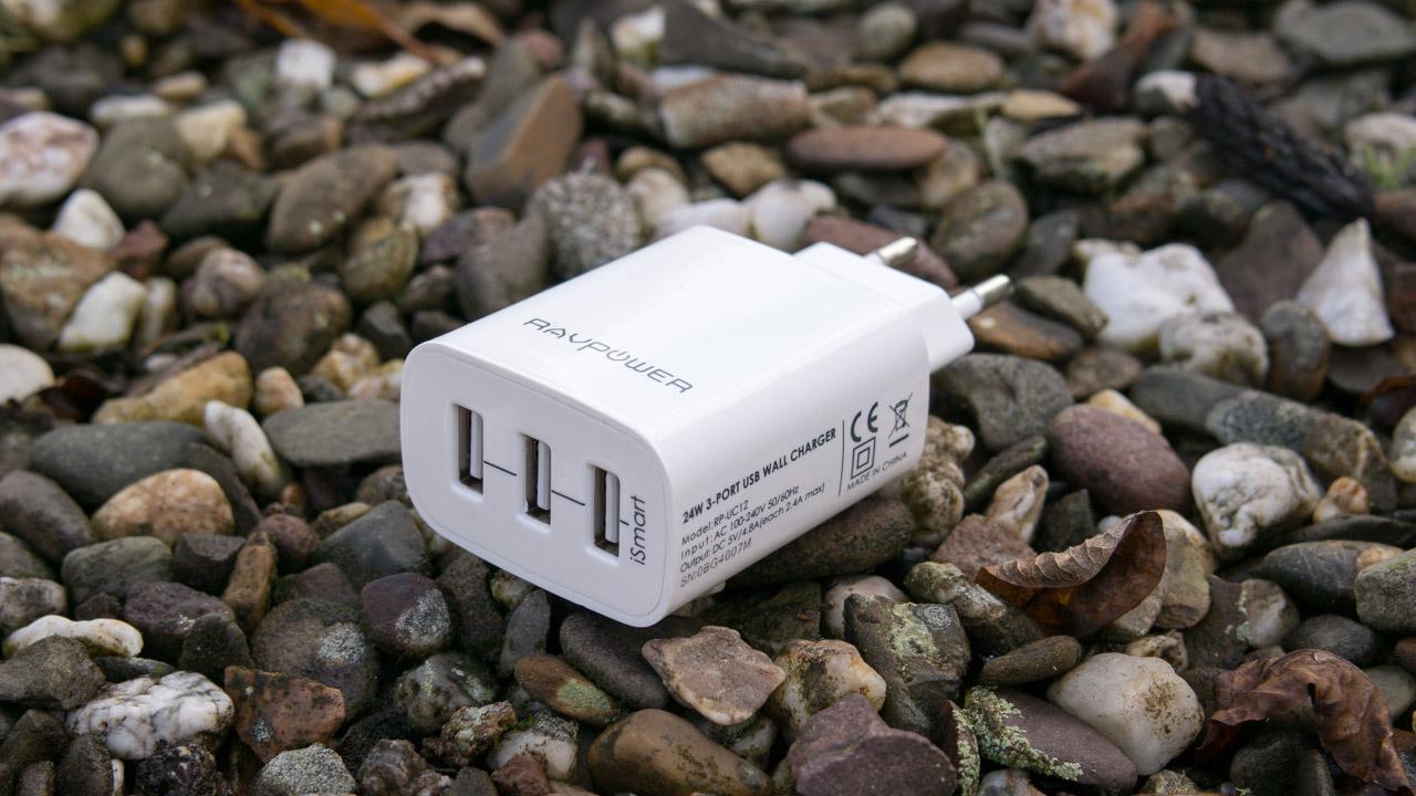 RAVPower RP-UC12 3-Port USB Ladegerät im Test