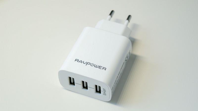 RAVPower RP-UC12 3-Port USB Ladegerät im Test-4