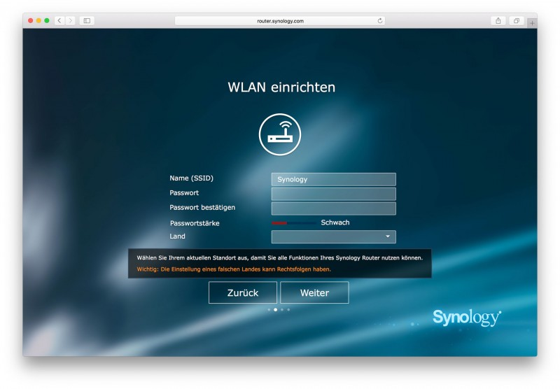 Synology RT1900ac Test Review SRM-5