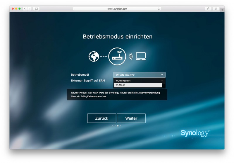 Synology RT1900ac Test Review SRM-7