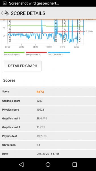 3DMark benchmark des Wiko Fever (2)