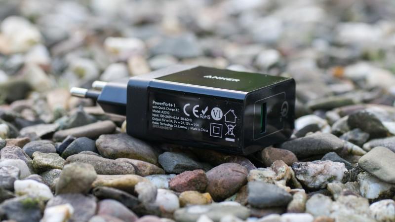 Anker PowerPort+ 1 das aktuell beste Quick Charge Ladegerät im Test-7