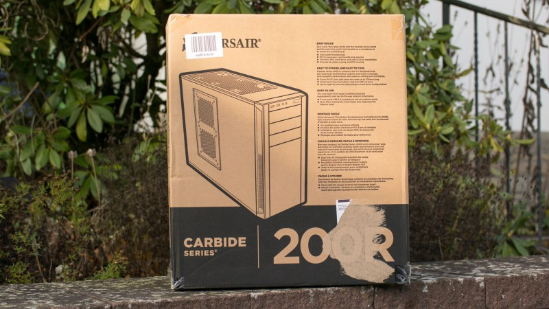 Corsair Carbide Series 200R PC Gehäuse im Test Review Bericht H100i Hardware Case