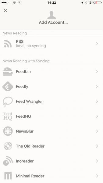 Der beste Feed Reader für IOS (1)