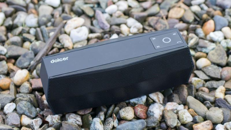 Dolcer by EasyAcc Bluetooth Lautsprecher mit MicroSD Karten Slot und FM Radio im Test Review-14