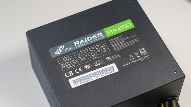 FSP Fortron Raider S 650W 80 Plus Silver Netzteil im Test-7