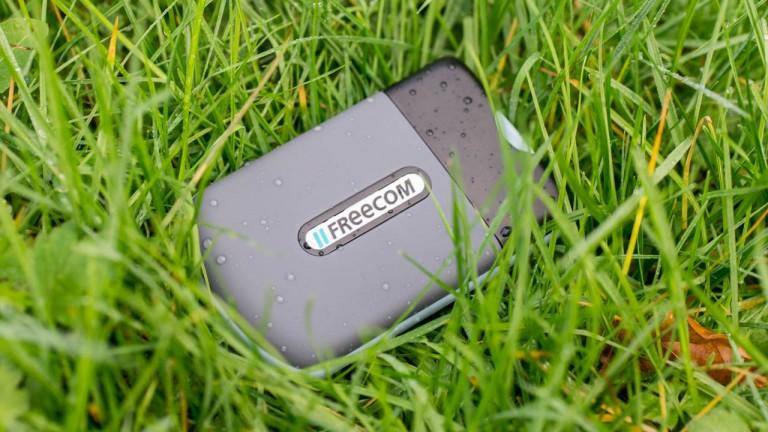 Externe robuste SSD im Test, die Freecom Mini Tough Drive SSD