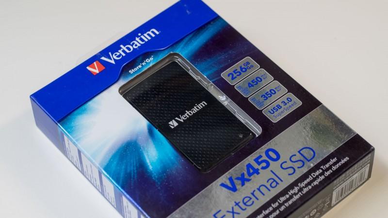 Günstige externe SSD von Verbatim im Test, die Verbatim VX450 Review-1