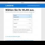 Linksys RE6400 Benutzeroberfläche Test (4)