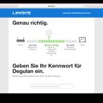Linksys RE6400 Benutzeroberfläche Test (5)