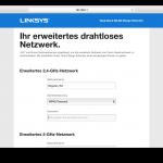 Linksys RE6400 Benutzeroberfläche Test (6)